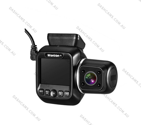 WonVon Dual Channel GPS Dashcam
